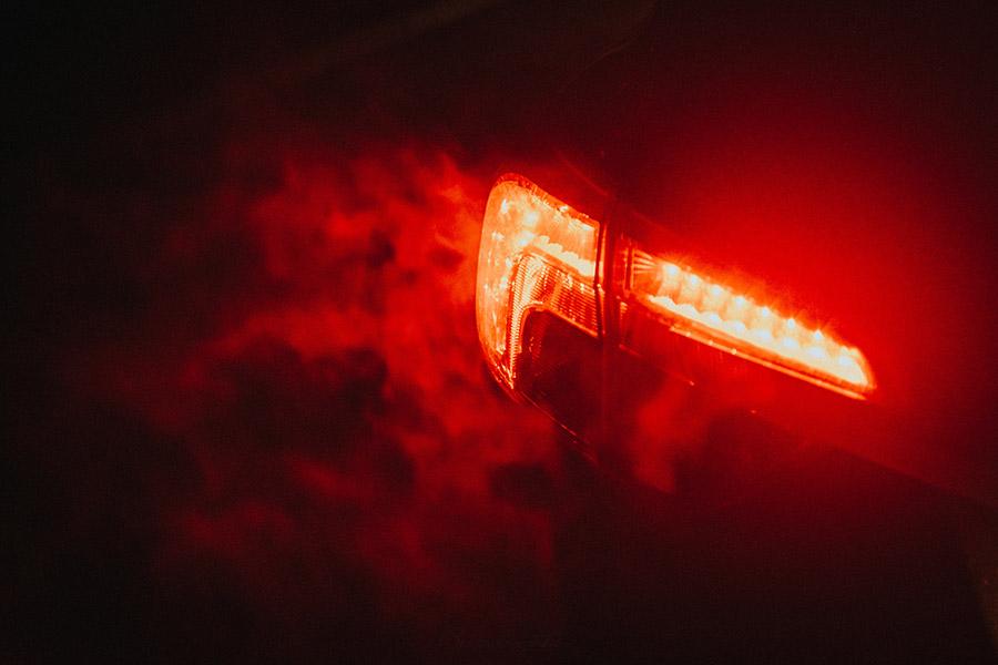 led osvětlení automobilu - zadní světlomety